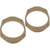 Entretoise Haut-parleur 2 Adaptateurs HP MDFD18 pour Ford Mondeo 1 165mm Bois ADNAuto