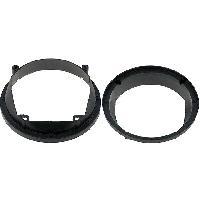 Entretoise Haut-parleur 2 Entretoises Haut-Parleur compatible avec Ford Fiesta 95-02 D165 AV
