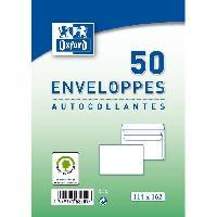 Enveloppe 50 enveloppes autocollantes - 16.2 cm x 11.4 cm x 2 cm