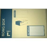 Enveloppe Boite d'expedition Bong box L - 58 cm x 40 cm x 1 cm