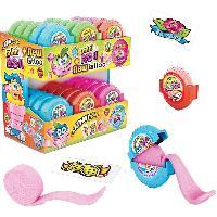 Epicerie Bubble gum en rouleau - Gouts panaches