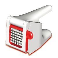 Eplucheur Electrique MOULINEX Coupe frite K1015414 blanc et rouge