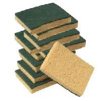 Eponge - Carre Vaisselle - Tampon A Recurer - Brosse Vaisselle 10 Eponges grattantes 125x85mm - ADNAuto