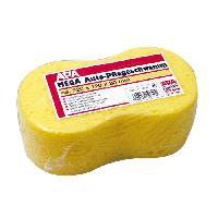 Eponge - Peau De Chamois - Microfibre - Chiffon Eponge super absorbante - 22 x 12 x 8 cm - Jaune