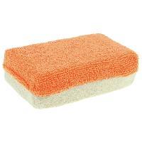 Eponges et Gants Eponge microfibre anti-buee 12x8x4cm Orange beige