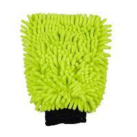 Eponges et Gants Gant de lavage en microfibre vert
