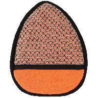 Eponges et Gants Gant double face microfibre compatible avec roues - Orange-Gris