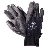 Eponges et Gants Gants Pu-Flex noir taille 9 -XL-