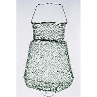 Epuisette - Nasse Bourriche metallique 40x28 cm - Gris
