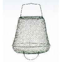 Epuisette - Nasse Bourriche metallique sans cou 40x28 cm