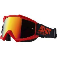 Equipement Pilote SHOT Lunettes Iris Rouge Glossy