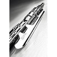Essuie-Glaces 1 Balai Essuie-Glace Metal Inox Universel - Chrome - 55cm