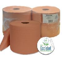 Essuie-tout - Essuie Mains Jetable Bobines chamois 950 feuil. 2 plis -x2 bobines- - MID