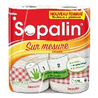 Essuie-tout - Essuie Mains Jetable SOPALIN Sur Mesure Décoré 2 = 4