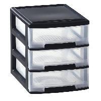 Etabli - Systeme Perfo - Armoire - Mobilier Atelier ALLIBERT Tour de rangement 3 tiroirs Babel format A4 3x5 L