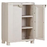 Etabli - Systeme Perfo - Armoire - Mobilier Atelier Armoire de rangement basse 2 grandes portes