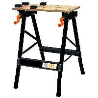 Etabli - Systeme Perfo - Armoire - Mobilier Atelier FARTOOLS ONE - WB 100 Etabli pliant bois et metal reglable - 120008