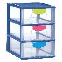 Etabli - Systeme Perfo - Armoire - Mobilier Atelier Tour de rangement 3 tiroirs Scoop 3x8 L