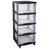 Etabli - Systeme Perfo - Armoire - Mobilier Atelier Tour de rangement Eify2 4 tiroirs 20 L