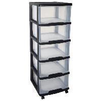 Etabli - Systeme Perfo - Armoire - Mobilier Atelier Tour de rangement Eify2 5 tiroirs 20 L