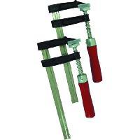 Etau - Serre-joint - Sauterelle TEC HIT Lot de 2 serre-joints 250 x 80 mm