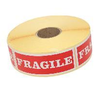 Etiquette - Etiquette De Classement Rouleau de 1000 étiquettes rouges auto-collante im - Generique