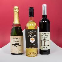 Etiquette Alimentaire THUMBSUP! Etiquettes adhesives pour bouteille de vin -x 10-