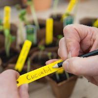 Etiquette Plante - Marque Plante NATURE Etiquettes PVC + 1 crayon