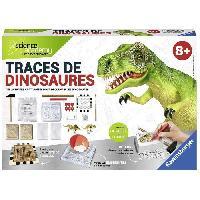 Etude Histoire - Geographie - Archeologie SCIENCE X RAVENSBURGER Midi Traces de Dinosaures Jeu Educatif