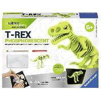 Etude Histoire - Geographie - Archeologie SCIENCE X RAVENSBURGER Mini T-Rex Phosphorescent Jeu Educatif