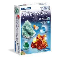 Experience Scientifique - Experience Physique-chimie CLEMENTONI Science & Jeu - Crée des cristaux - Jeu scientifique