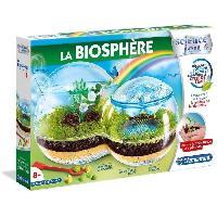 Experience Scientifique - Experience Physique-chimie CLEMENTONI Science & Jeu -La Biosphere - Jeu scientifique