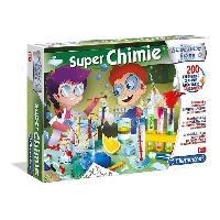 Experience Scientifique - Experience Physique-chimie CLEMENTONI Science & Jeu - Super Chimie - Jeu scientifique