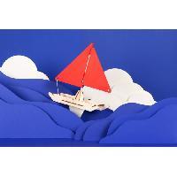 Experience Scientifique - Experience Physique-chimie KOAKOA Jeu éducatif STEM Anime Ton Catamaran - Generique