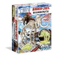 Experience Scientifique - Physique-chimie Archeo Ludic Mammouth - Phosphorescent