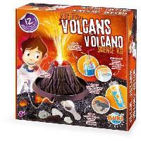 Experience Scientifique - Physique-chimie BUKI La science des volcans - Buki France