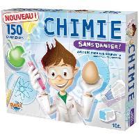 Experience Scientifique - Physique-chimie Chimie Sans Danger 150 Expériences - Buki France