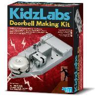 Experience Scientifique - Physique-chimie KIDZLABS Kit de fabrication sonnette