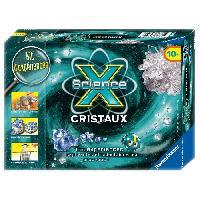 Experience Scientifique - Physique-chimie Mini Science X Cristaux