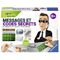 Experience Scientifique - Physique-chimie SCIENCE X RAVENSBURGER Mini Messages et Codes Secrets Jeu Educatif