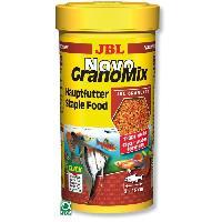 Extrude - En Granule JBL Recharge Novogranomix - Pour poisson d'aquarium - 250ml - Jbl Animalerie