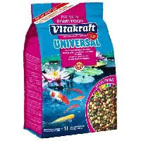Extrude - En Granule VITAKRAFT Pond food universel sticks sachet fraicheur - Pour poissons - 1 L