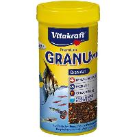 Extrude - En Granule VITAKRAFT Vita granu mix - Pour poissons - 250 ml