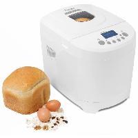 Fabrication Maison ABM2003 Machine a pain - 12 programmes de cuisson - Blanc