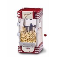 Fabrication Maison ARIETE 2953 Appareil a Popcorn XL - 310 W - Capacité 2.4 L - Rouge