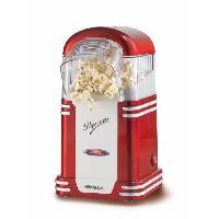 Fabrication Maison ARIETE 2954 Appareil a Popcorn - 1100 W - Design années 50 - Rouge
