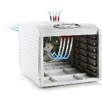 Fabrication Maison DOMO DO353DV Deshydrateur digital - Temperatures 35oC a 70oC - 6 niveaux en acier inoxydable