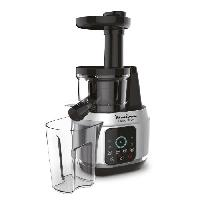 Fabrication Maison MOULINEX ZU420E10 Juice & Clean. Extracteur de jus. Technologie Easy Clean. Pressage a froid. Pulpe réglable. Ecran tactile intuitif