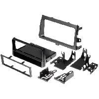 Facade Autoradio Facade autoradio 1DIN compatible avec Toyota Corolla ap08 - avec vide-poche