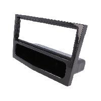 Facade Autoradio Facade autoradio 1 DIN pour Opel Astra H 04-10 Twintop 06-10 avec vide poche -noir brillant